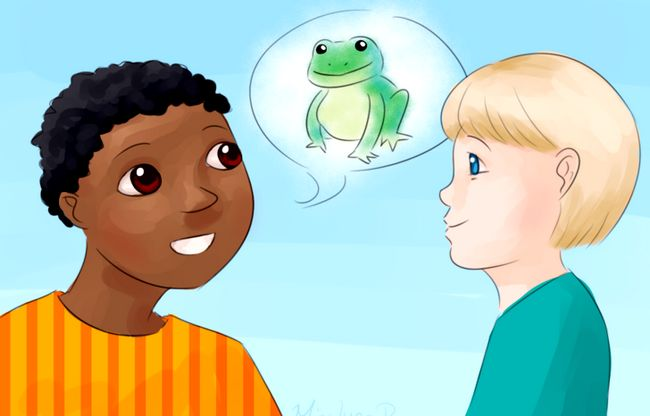 Prent getiteld Boys Talk About Frogs.jpg
