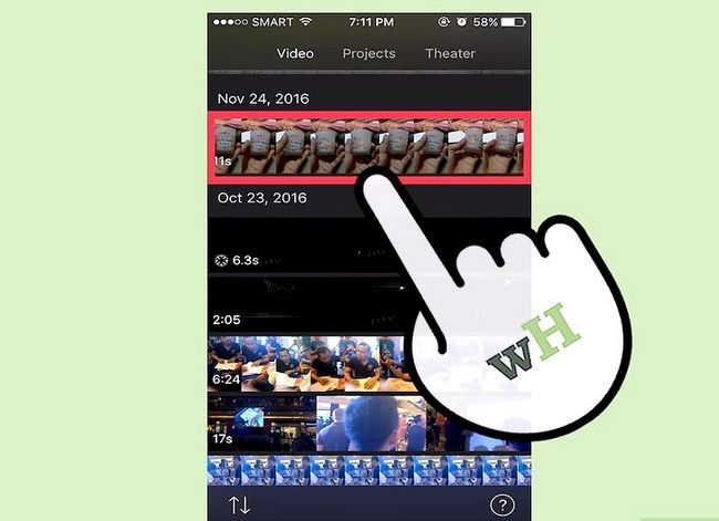 Prent getiteld `n iMovie-video uitvoer in HD Stap 18