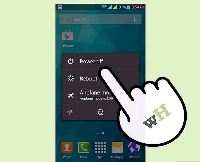 Prent getiteld Neem die battery uit `n Samsung Galaxy Tablet Stap 1