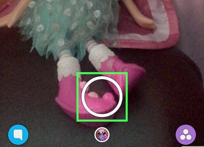 Prent getiteld Pin teks na Snapchat Video`s Stap 2