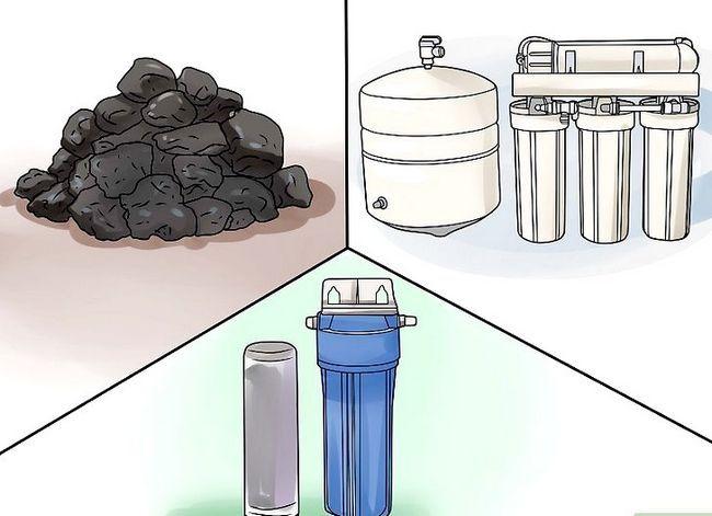 Prent getiteld Filter Water Stap 18