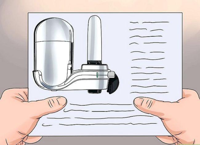 Prent getiteld Filter Water Stap 20