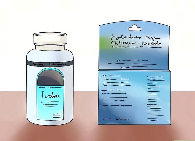 Prent getiteld Filter Water Stap 2