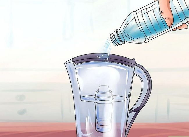 Prent getiteld Filter Water Stap 21