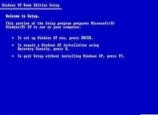 Prent getiteld Formaat en herinstalleer Windows Stap 3