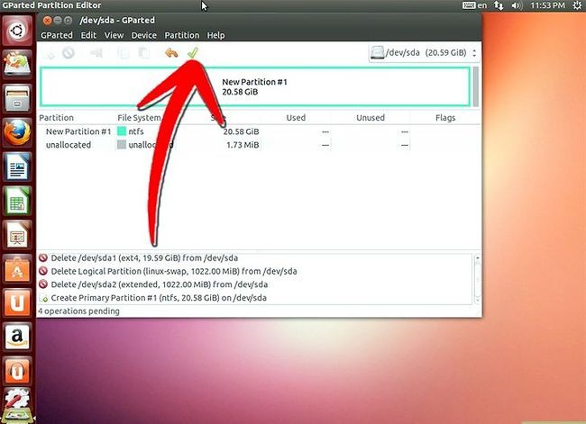 Beeld getiteld Formateer `n Linux-hardeskyf na Windows Stap 12