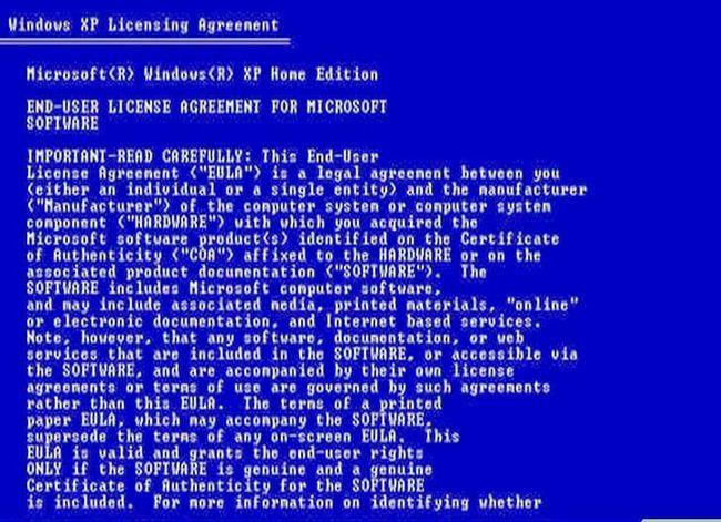 Prent getiteld Windows XP installeer op `n Windows Vista-rekenaar Stap 5