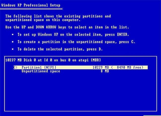 Beeld getiteld Formateer `n Linux-hardeskyf na Windows Stap 4