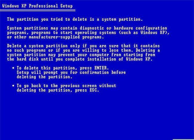 Beeld getiteld Formateer `n Linux-hardeskyf na Windows Stap 5