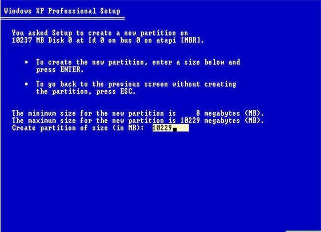 Beeld getiteld Formateer `n Linux-hardeskyf na Windows Stap 6