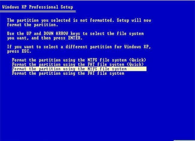 Beeld getiteld Formateer `n Linux-hardeskyf na Windows Stap 7