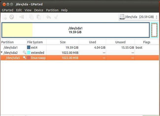 Beeld getiteld Formateer `n Linux-hardeskyf na Windows Stap 10