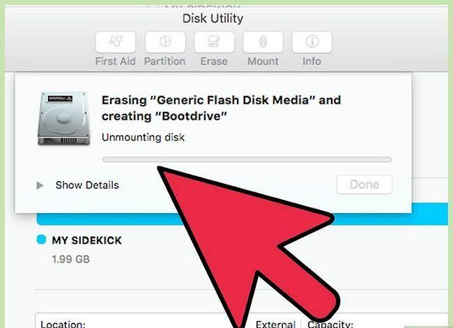 Beeld getiteld Formateer `n hardeskyf op Mac om te werk op Mac en PC Stap 13