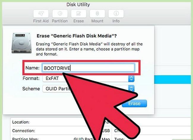Beeld getiteld Formateer `n hardeskyf op Mac om op Mac en PC Stap 7 te werk