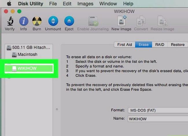 Prent getiteld Formateer `n eksterne hardeskyf Stap 17