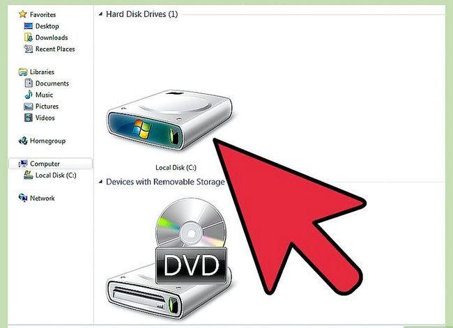 Beeld getiteld Formateer `n hardeskyf vir gebruik met Xbox 360 Stap 1
