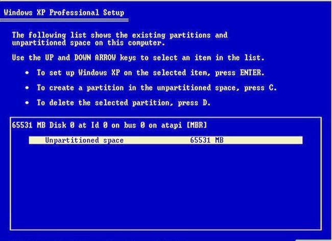 Prent getiteld Formaat en herinstalleer Windows Stap 4