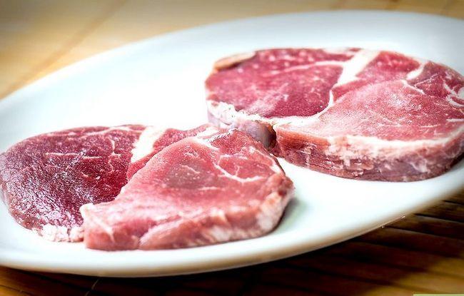 Beeld getiteld Pan Fry a Ribeye Steak Stap 1
