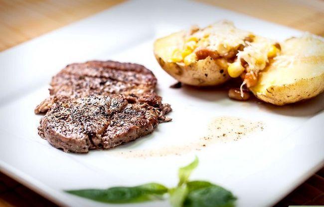 Prent getiteld Pan Fry a Ribeye Steak Stap 7