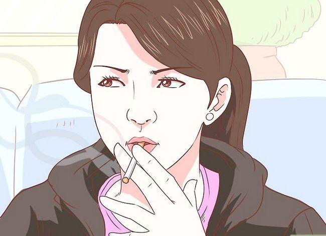 Beeld getiteld Rook in jou huis sonder mense. Stap 12
