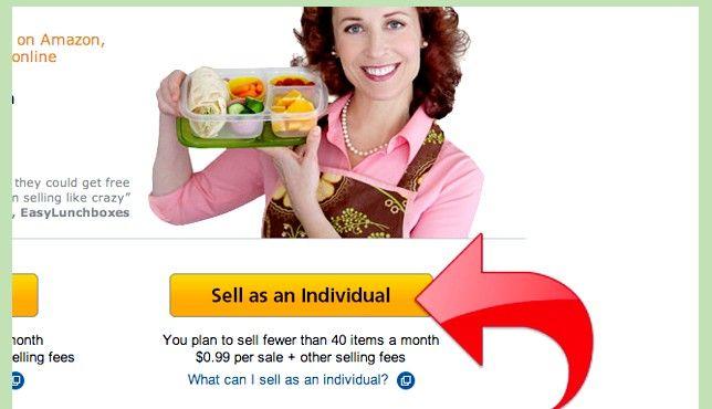 Prent getiteld Maak geld met Amazon Stap 2
