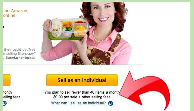 Prent getiteld Maak geld met Amazon Stap 2Bullet1