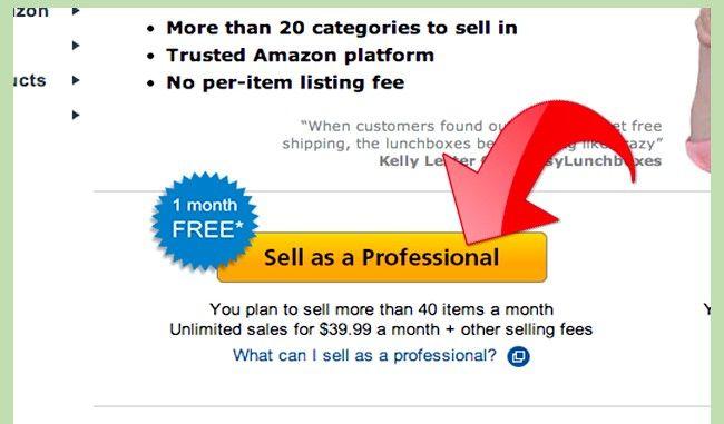 Prent getiteld Maak geld met Amazon Step 2Bullet2