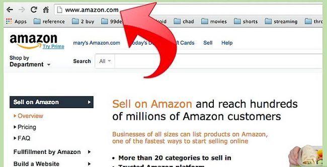 Prent getiteld Maak geld met Amazon Stap 4