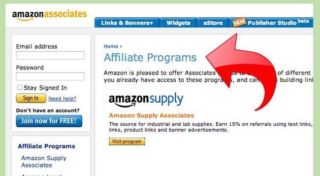 Prent getiteld Maak geld met Amazon Stap 8
