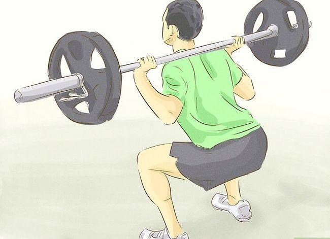 Prent getiteld Verkry meer spiermassa en sterkte Stap 3