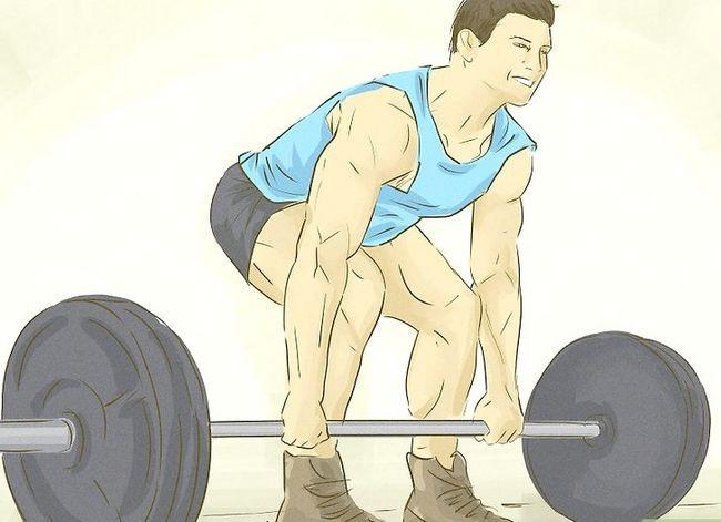 Prent getiteld Verkry meer spiermassa en sterkte Stap 4