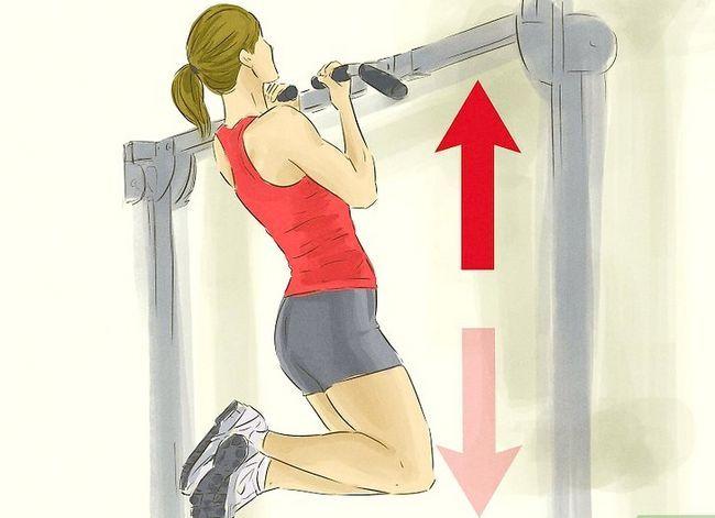 Prent getiteld Verkry meer spiermassa en sterkte Stap 5