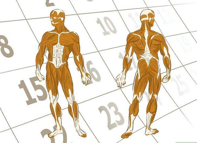 Prent getiteld Verkry meer spiermassa en sterkte Stap 9