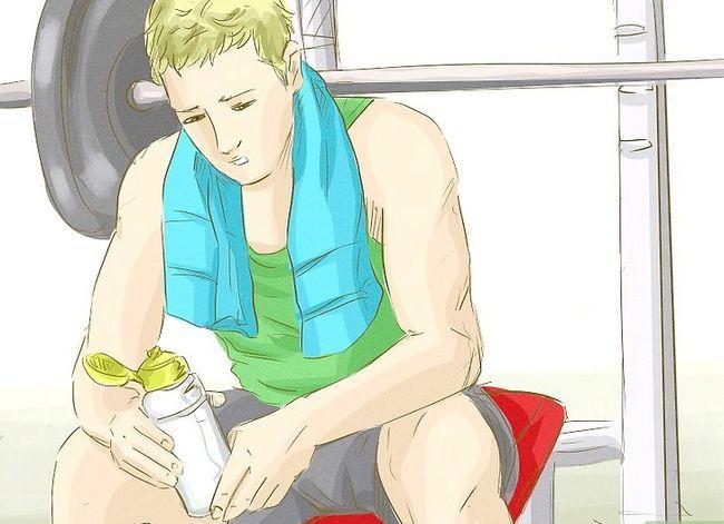 Prent getiteld Verkry meer spiermassa en sterkte Stap 10
