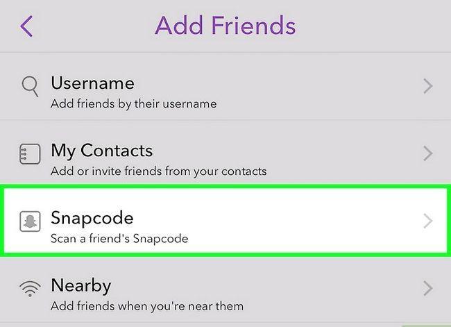 Prentjie getiteld Verdien Snapchat Trophies Stap 12
