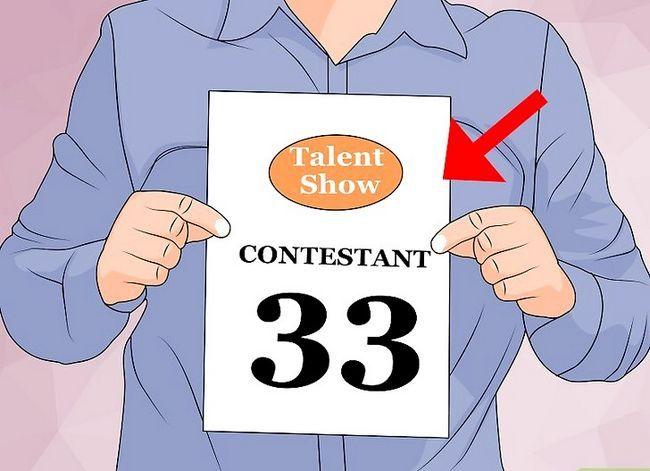 Prent getiteld Win `n Talent Skou Stap 11