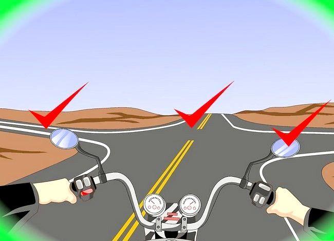 Hoe om regs met `n motorfiets te draai