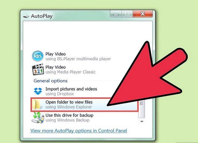 Beeld getiteld Brande lêers na `n CD in Windows XP Stap 2