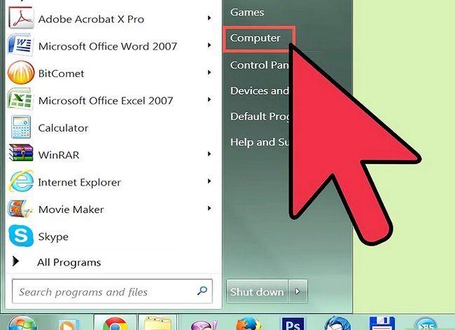 Beeld getiteld Brande lêers na `n CD in Windows XP Stap 3