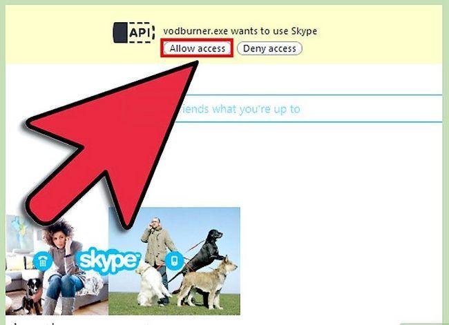 Prent getiteld Rekord Skype-oproepe Stap 3