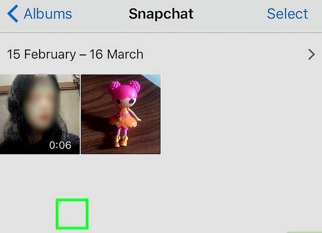Prent getiteld Stoor Snapchat-gesprekke Stap 14