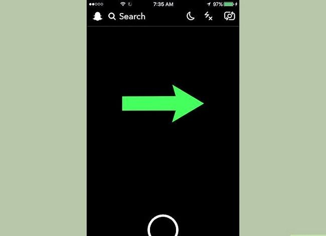 Prent getiteld Stoor Snapchat-gesprekke Stap 2