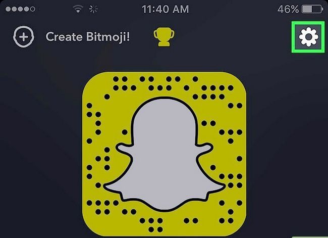 Prent getiteld Stoor Snapchats na die rolrol Stap 3