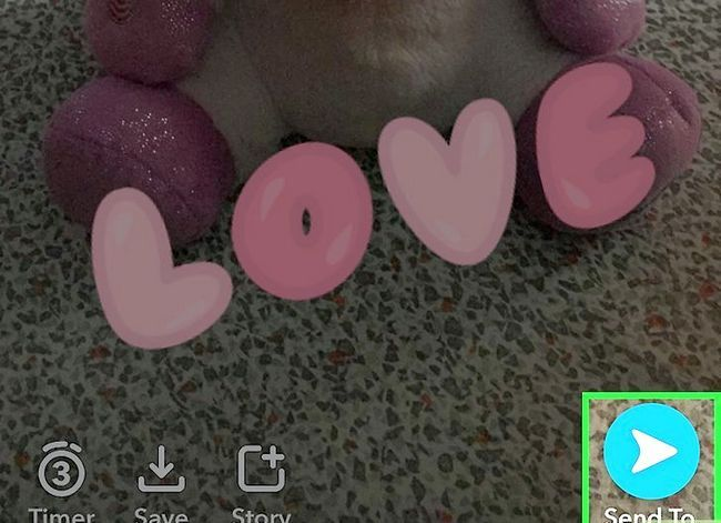 Prent getiteld Stoor Snapchats na die rol van Camera Rol Stap 10
