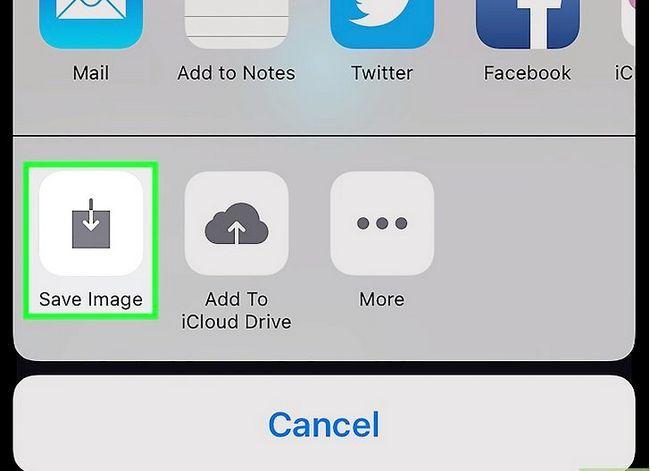 Prent getiteld Memories opslaan na die kamera rol op Snapchat Stap 5