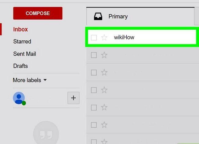 Prent getiteld Stoor jou Gmail e-pos na Google Drive Stap 3