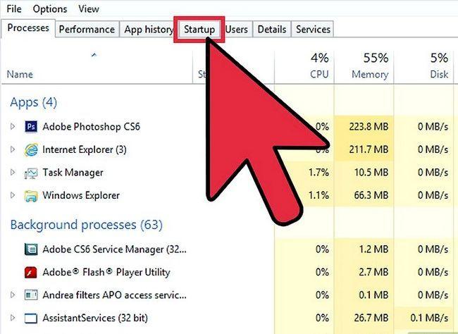 Prent titel Toegangsprogramme aanskakel en deaktiveer in Windows 8 Stap 2