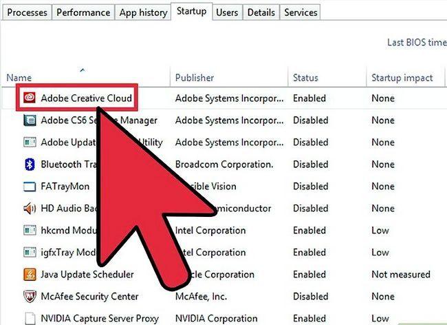 Prent getiteld Aktiveer en deaktiveer opstartprogramme in Windows 8 Stap 3