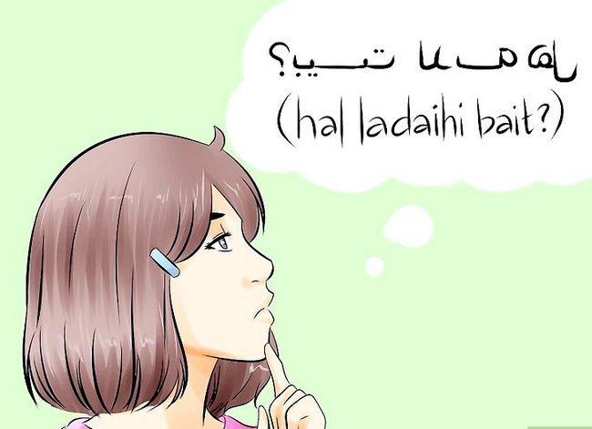 Prent getiteld Spreek Arabies Stap 7