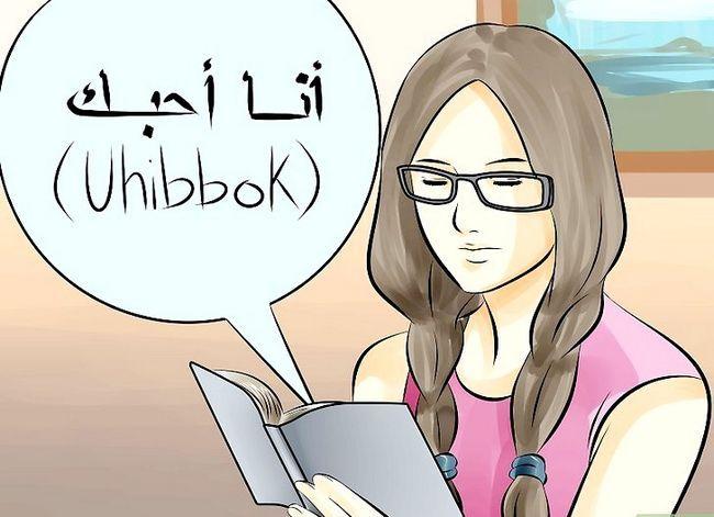 Prent getiteld Spreek Arabies Stap 8